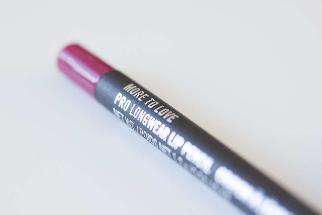 lip pencil more to love mac