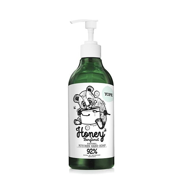 Honey & Bergamot Kitchen Hand Soap