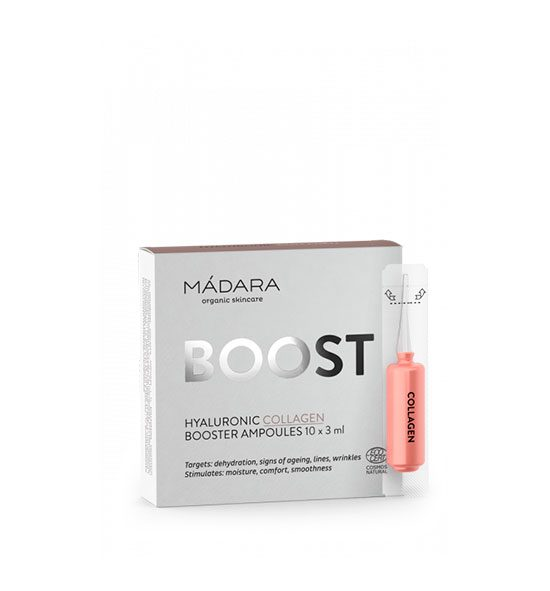 AMPOLLAS HIDRATACIÓN COLLAGEN BOOSTER